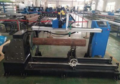 പാനാസോണിക് സെർവ മോട്ടോടു കൂടിയ CNC കാന്റർ പ്ലാസ്മ ജ്വലിക്കുന്ന യന്ത്രമാണിത്